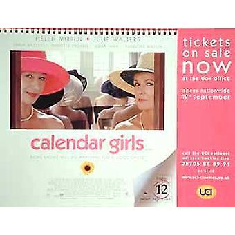 Kalenteri tyttöjen alkuperäinen elokuva juliste
