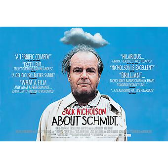 About Schmidt Original Cinema Poster