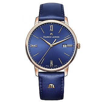 Maurice Lacroix EL1118-PVP01-411-1 Men's Eliros Date Wristwatch