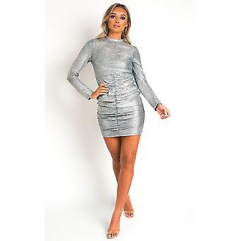 IKRUSH Dámske Coco high Neck mini šaty