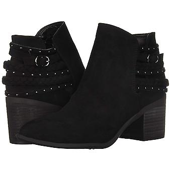 Carlos by Carlos Santana Women's Ashby Ankle Boot Black 8 Medium US
