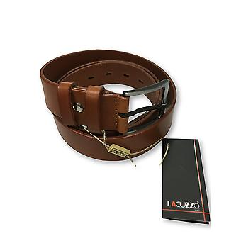 Lacuzzo leather belt in tan