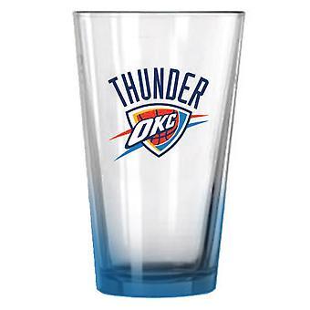 Фанатики НБА 450 мл, пинта стекла - Оклахома-Сити Тандер