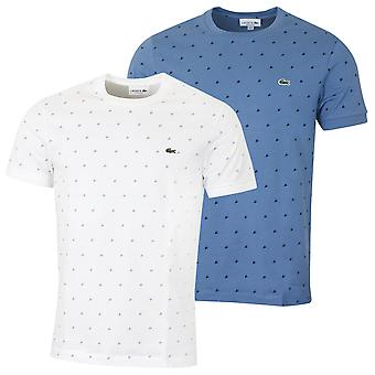 T-shirt Jersey stampata Lacoste Mens