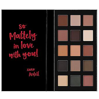 Ardell Beauty Pro Eye Shadow Pallette 15 Shades So Mattely In Love With You