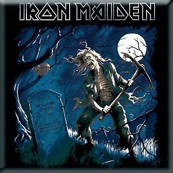 Iron Maiden Kühlschrank Magnet Benjamin Breeg neue offizielle 76 x 76 mm
