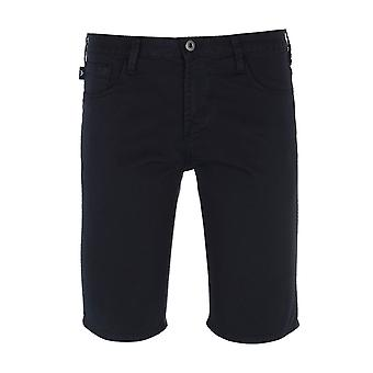 Emporio Armani Bermuda Dunkle Marine Chino Shorts
