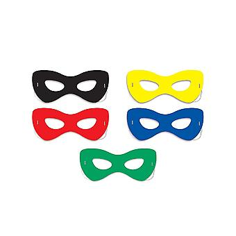 Masques en carton Super Hero