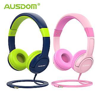 Słuchawki Ausdom K1 Kids dzielenie muzyki 85dB o ograniczonej głośności 2-pak