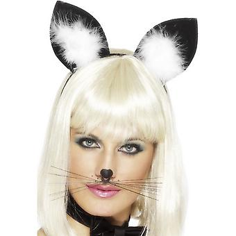 Smiffys Female Faux Cat Ears