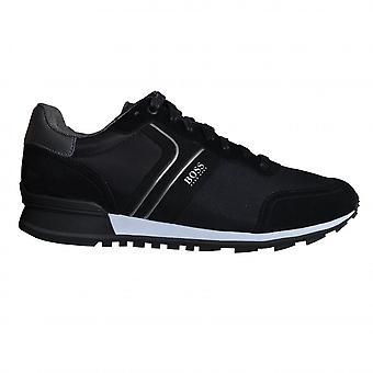 Hugo Boss Footwear Hugo Boss Men's Black Athleisure Parkour Runn Trainers