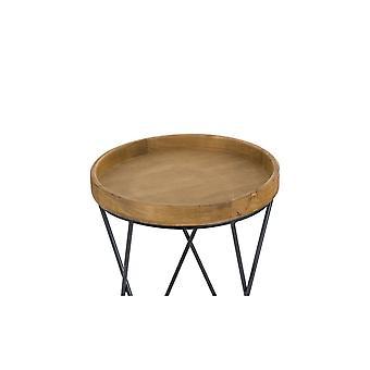 Hill Interiors Loft Collection Side Tables (Ensemble de 3)