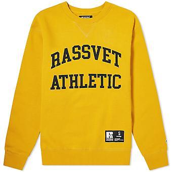 PACCBET Rassvet x Russell Athletic Logo Sweatshirt