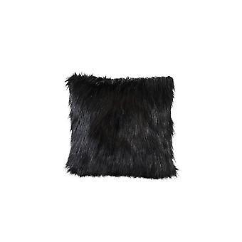 Light & Living Pillow 45x45cm Fluffy Black
