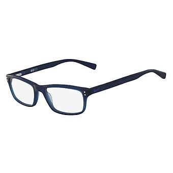 Nike 7237 400 Matte Blue Glasses