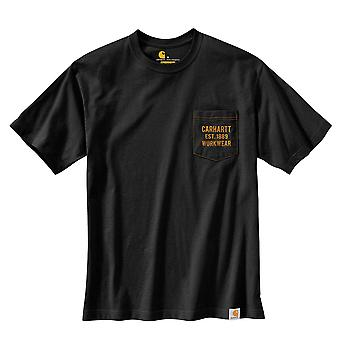 Carhartt Men's T-Shirt Workwear Graphic Pocket