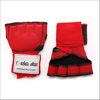 Elevate gel hand wraps - red