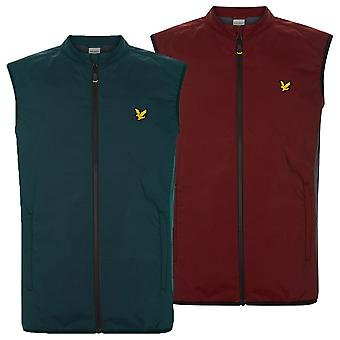 Lyle & Scott Mens Sleeveless Gilet Insulated Stretch Zip