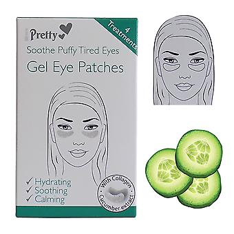 Pretty Gel Eye Patches ~ Soothe Puffy Tired Eyes