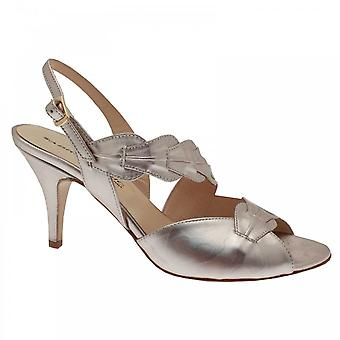 Sabrina Chic Champagne Sling Back Sandal
