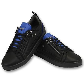 Sneakers - Maximus Black Blue - ZwartBlauw