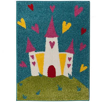 Princess Castle Rugs From Play Days In Multi