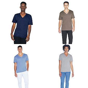 Unisex V americkém oděvním triku V krku