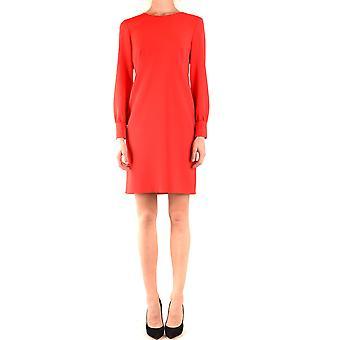 Boutique Moschino Ezbc170027 Women's Red Acetate Dress