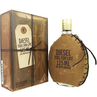 Diesel fuel for life for men 4.2 oz eau de toilette spray