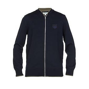 Kenzo F965ca1023ab76 Mænd's Blå Uld Sweater