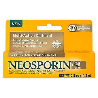 Neosporin pain + itch + scar multi-action ointment, 0.5 oz