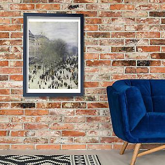 Claude Monet - Boulevard des Capucines Poster Print Giclee