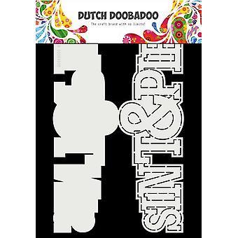 Hollandsk Doobadoo Card Art A4 Sint en Piet (NL) 470.713.752