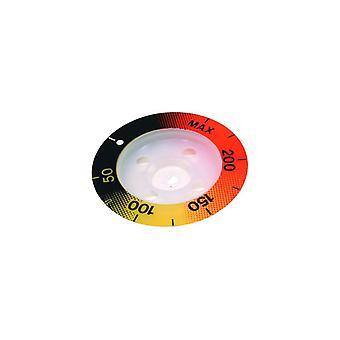 ZANUSSI température contrôle bouton indicateur Disc