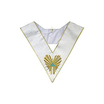 Masonic collar – french chapter – 5th order – glnf
