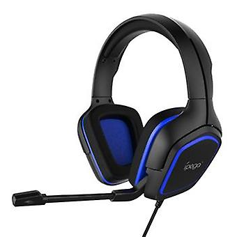 iPega PG-R006 Gaming Headset Headphones with Microphone - Blue, 2m Cable