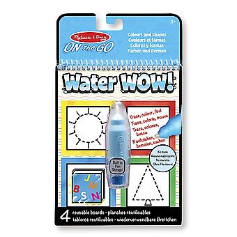 Melissa & Doug On The Go Water Wow! Activity Pad - Colours And Shapes