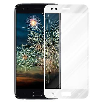 Cadorabo Full Screen Tank Film for Asus ZenFone 4 - Hardened (Tempered) Display Protective Glass in 9H Hardness with 3D Touch Compatibility