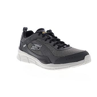 Skechers EQUALIZER 4.0 RESTRIKE Męskie Gray Mesh Sportowe buty do biegania