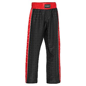 Bytomic Performer V2 Kids Kickboxing Pantalon noir/rouge