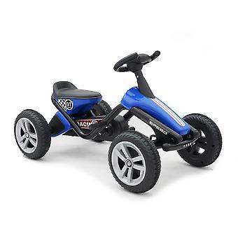 Byox barn go-kart, trampbil Dakar, plastdäck, pedaler, från 3 år
