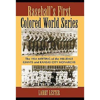 Baseball-apos;s First Colored World Series - La réunion 1924 de la Hillda