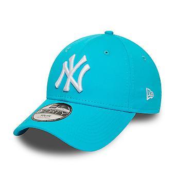 New Era 9Forty KIDS Cap - New York Yankees sky blue
