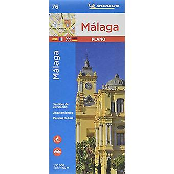 Malaga - Michelin City Plan 76 - City Plans - 9782067236998 Book