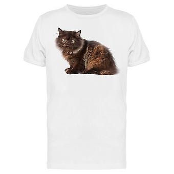 Varied Colored Persian Kitty Tee Men-apos;s -Image par Shutterstock