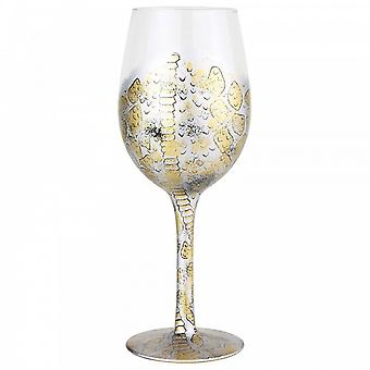 Lolita Venom Snake Skin Pattern Wine Glass