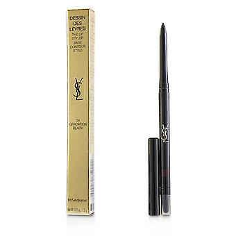 Dessin des levres the lip styler # 24 gradation black 223343 0.35g/0.01oz