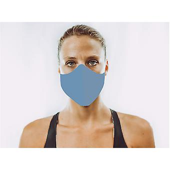 Non-Medical Face Mask | 11. Blue - L ( large size, for a larger face, fits most men 180 cm and up)