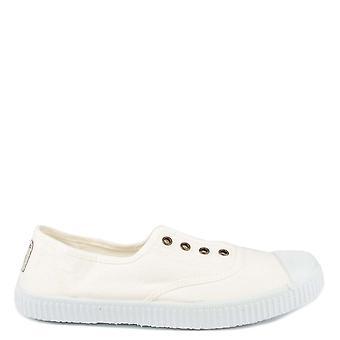 Victoria Shoes Dora Blanco Canvas Plimsolls