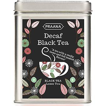 Praana Tea - Decaffeinated Black Tea - Gift Tin -100g
